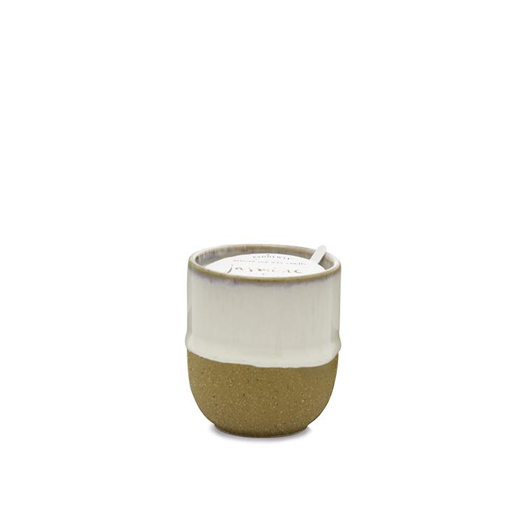 Jasmin + Bamboo 3.5oz Ceramic Candle