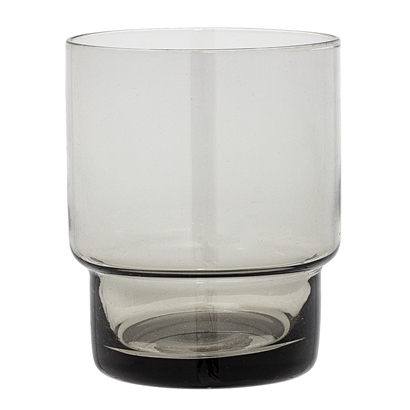 Votive, Grey, Glass Tea light holder