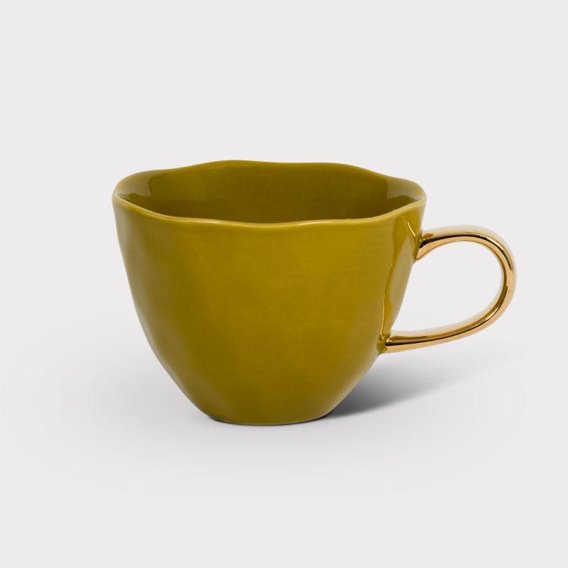 Good Morning Cup - Amber Green -Mug