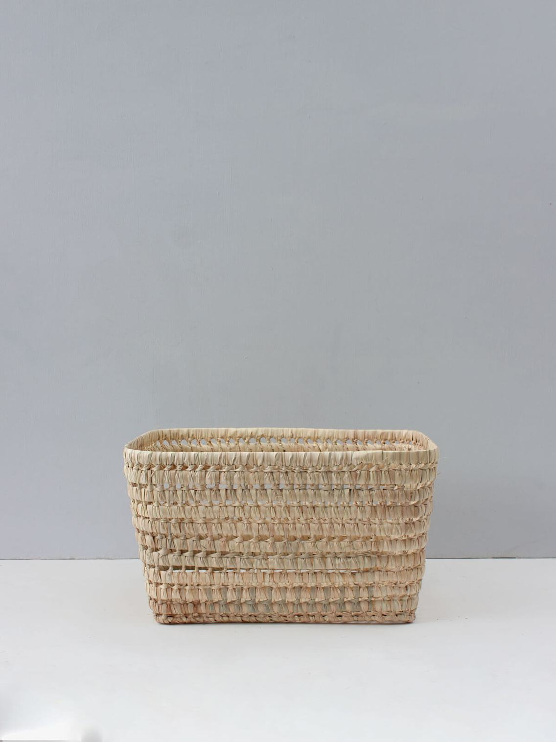 Open weave storage basket LARGE