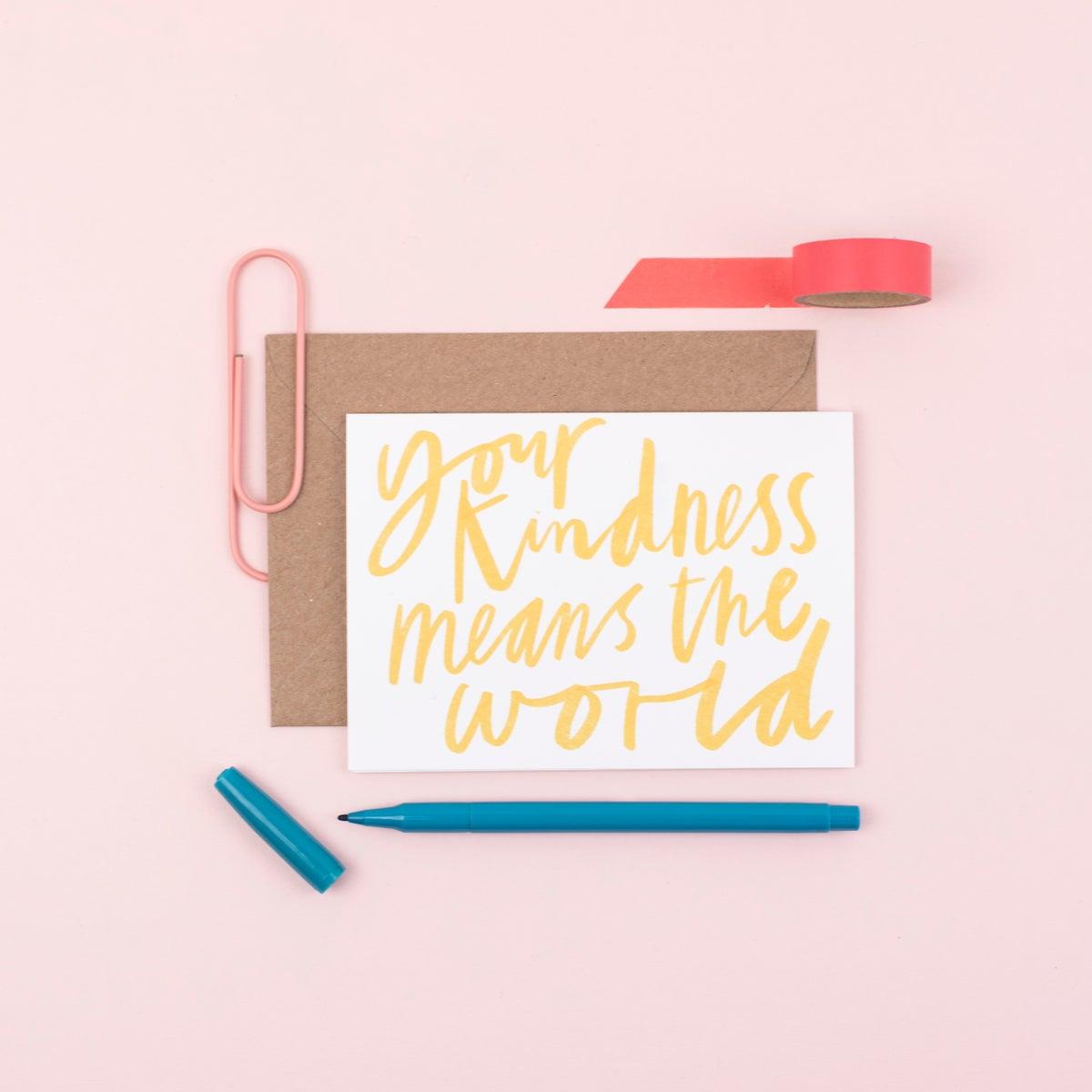 Kindness - Letterbox Lane