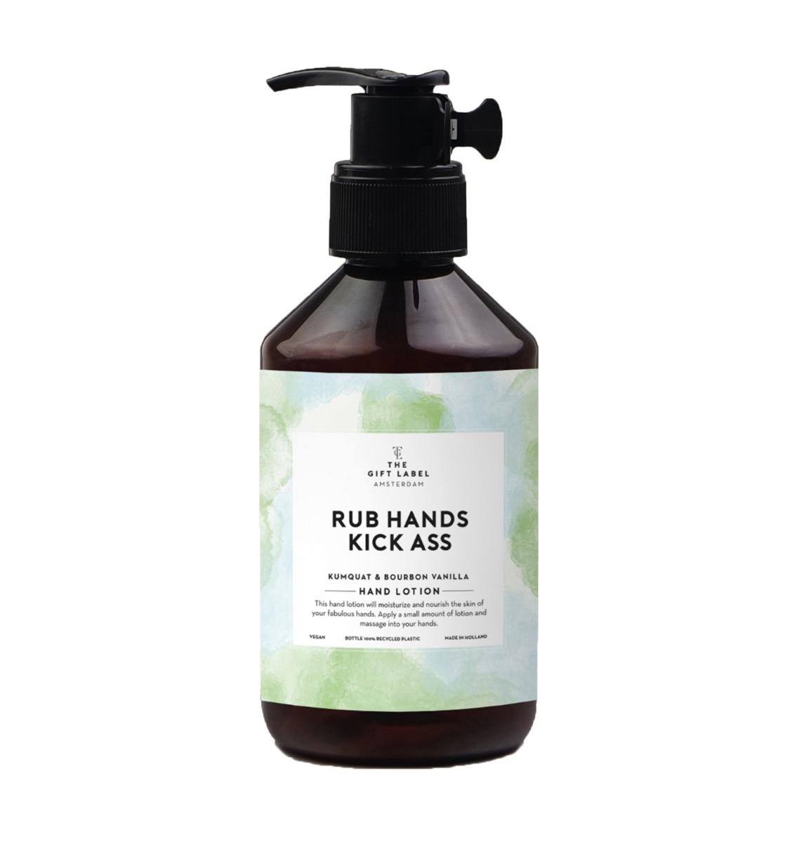 Rub Hands Kick Ass - Hand Lotion/Green