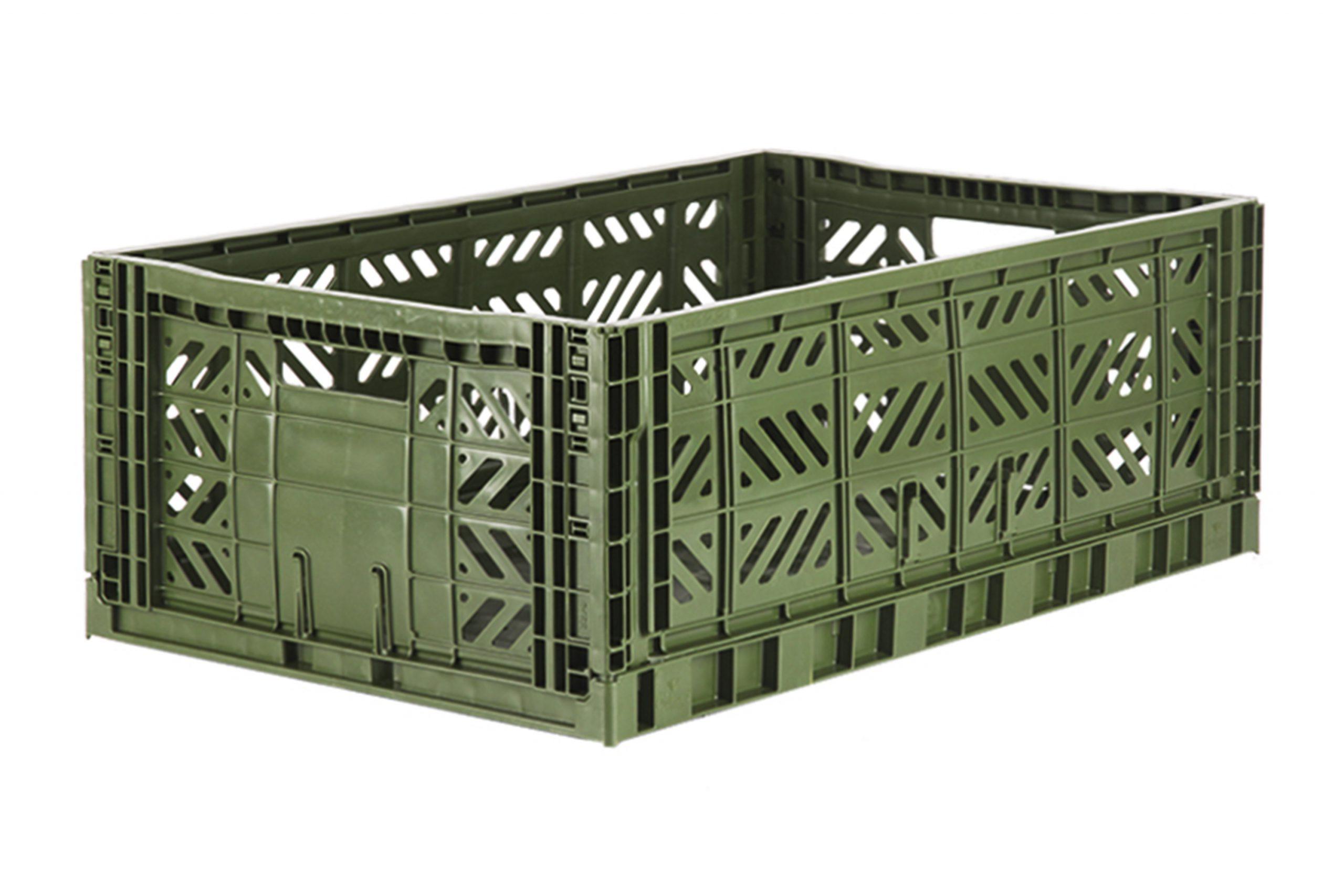 Maxi Folding Crate -  Khaki