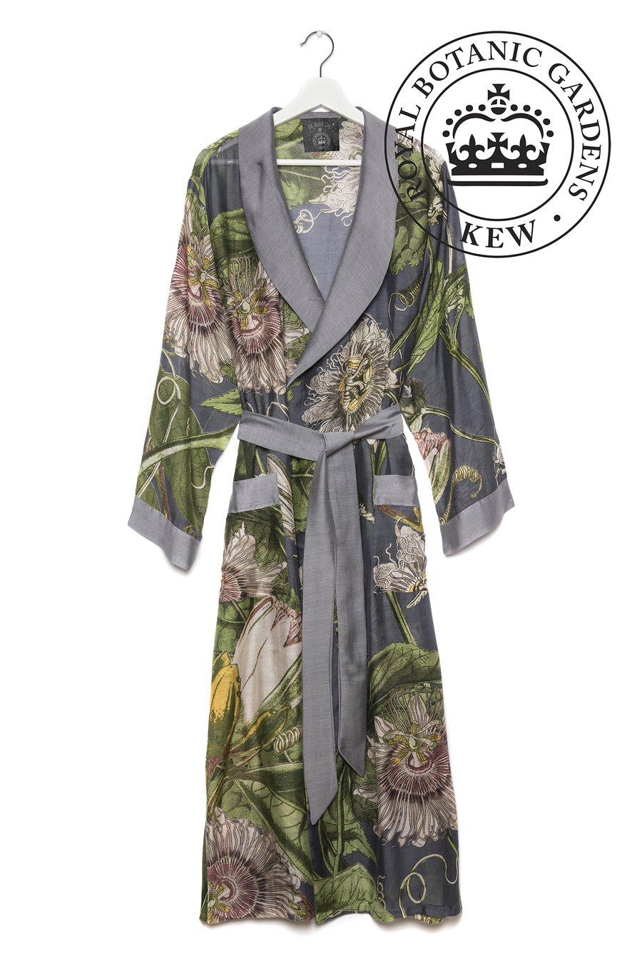 OHS & KEW RBG Passion Flower Grey Gown