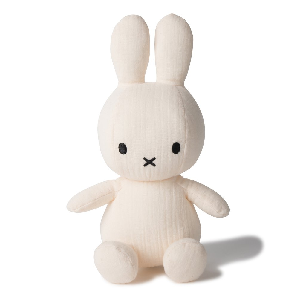 Sitting Miffy Toy - Mousseline Cream