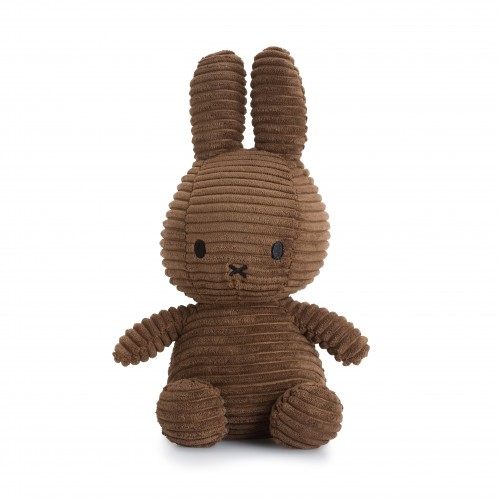 Sitting Miffy Toy - Brown Corduroy