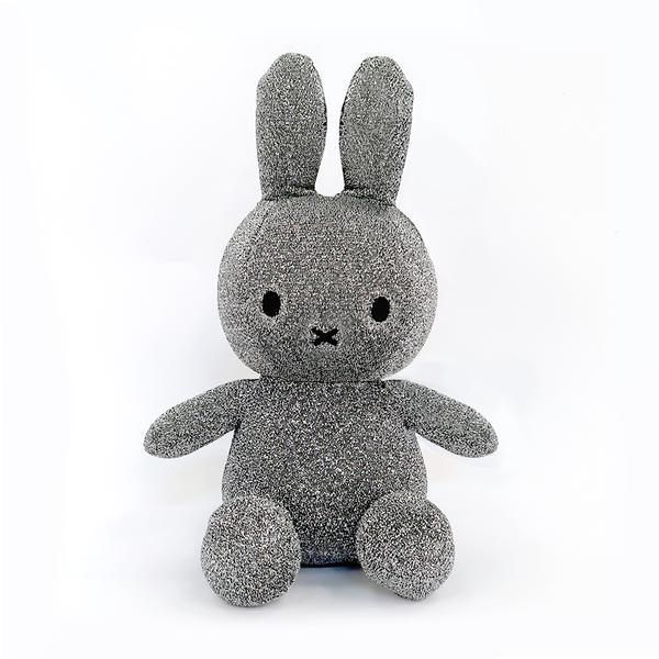 Miffy Sitting Sparkle Silver - 24 cm Limited Edition
