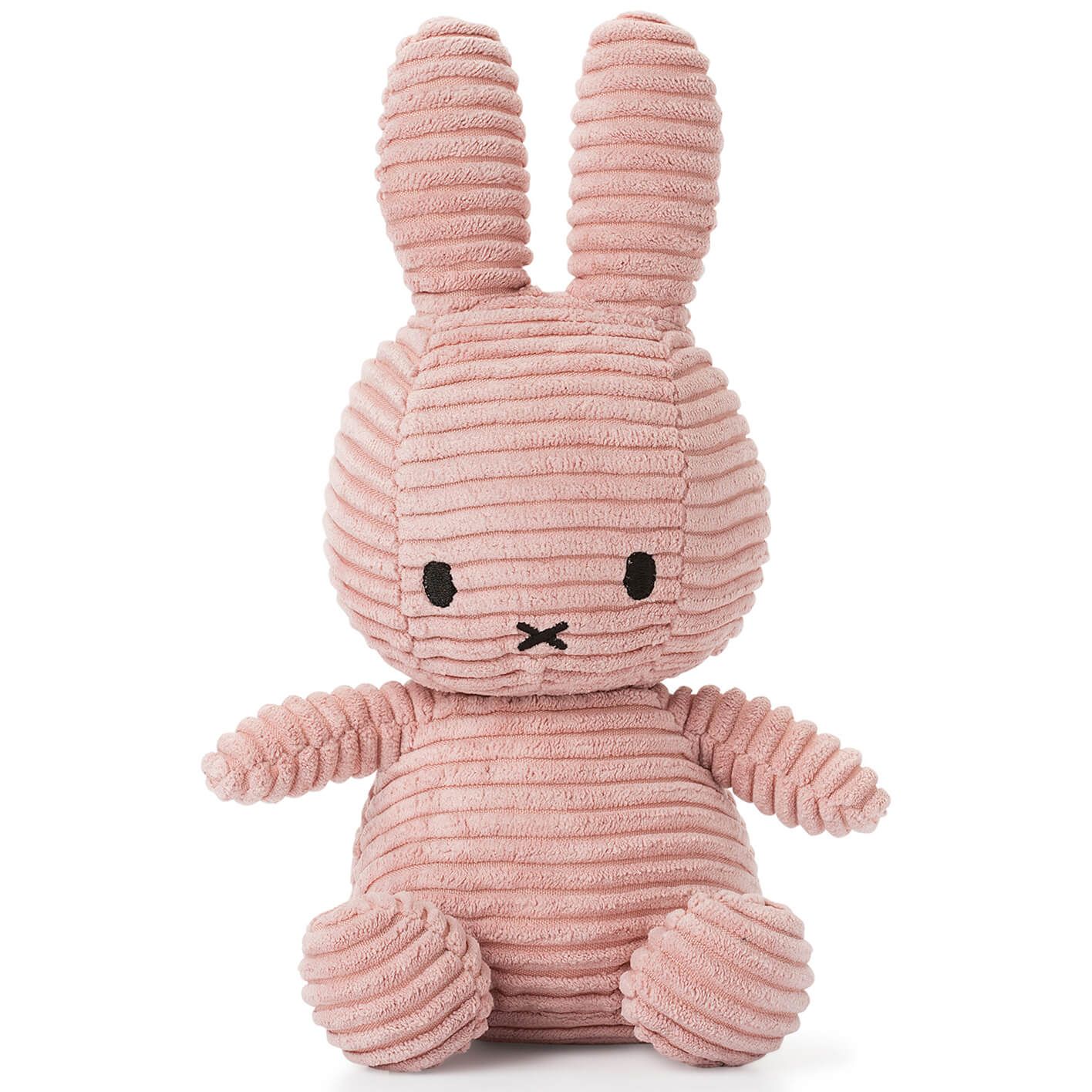 Sitting Miffy Toy - Pink Corduroy