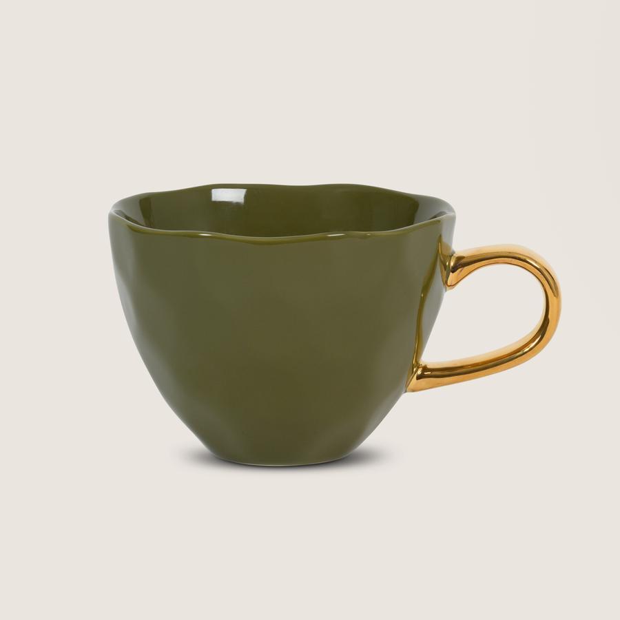 Good Morning Cup, fir green - Mug