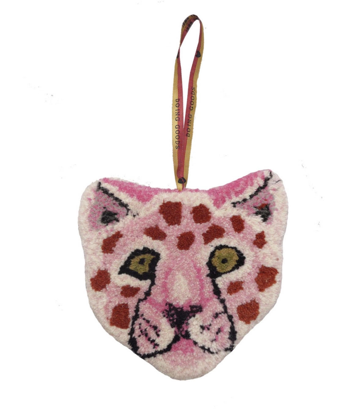 Pink Leopard Wall Hanging