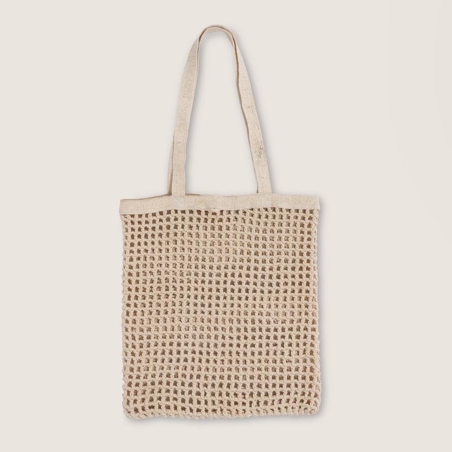 Crochet Bag shopper Fashion, off white