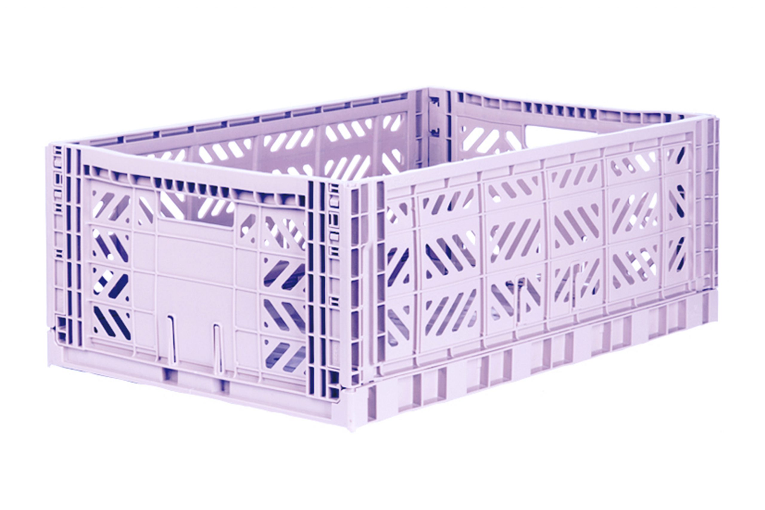 Maxi Folding Crate - Orchid