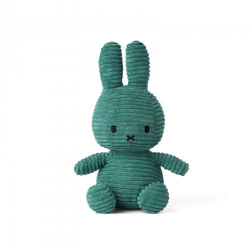 Sitting Miffy Toy - Green Corduroy