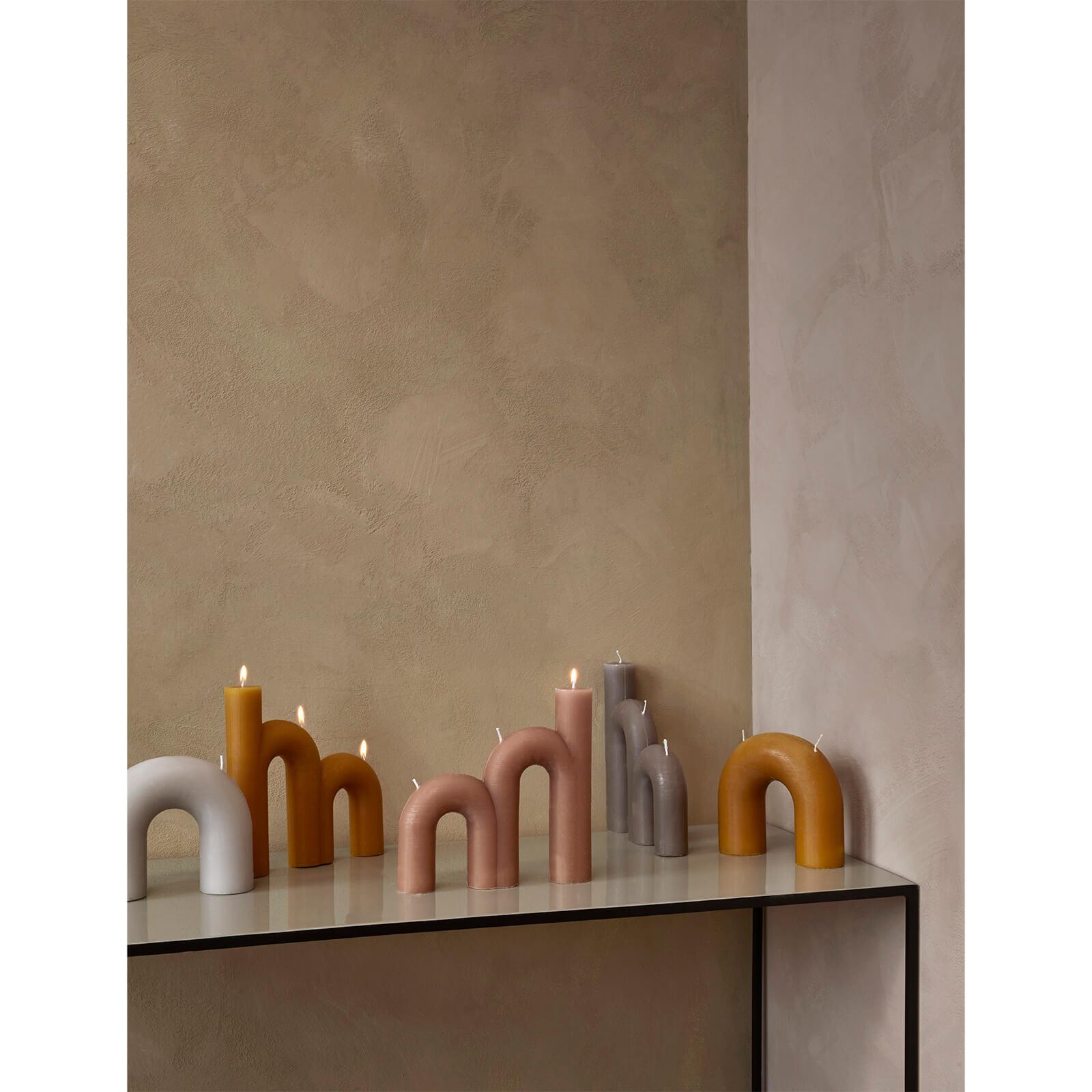 Indian Tan Bend Candle