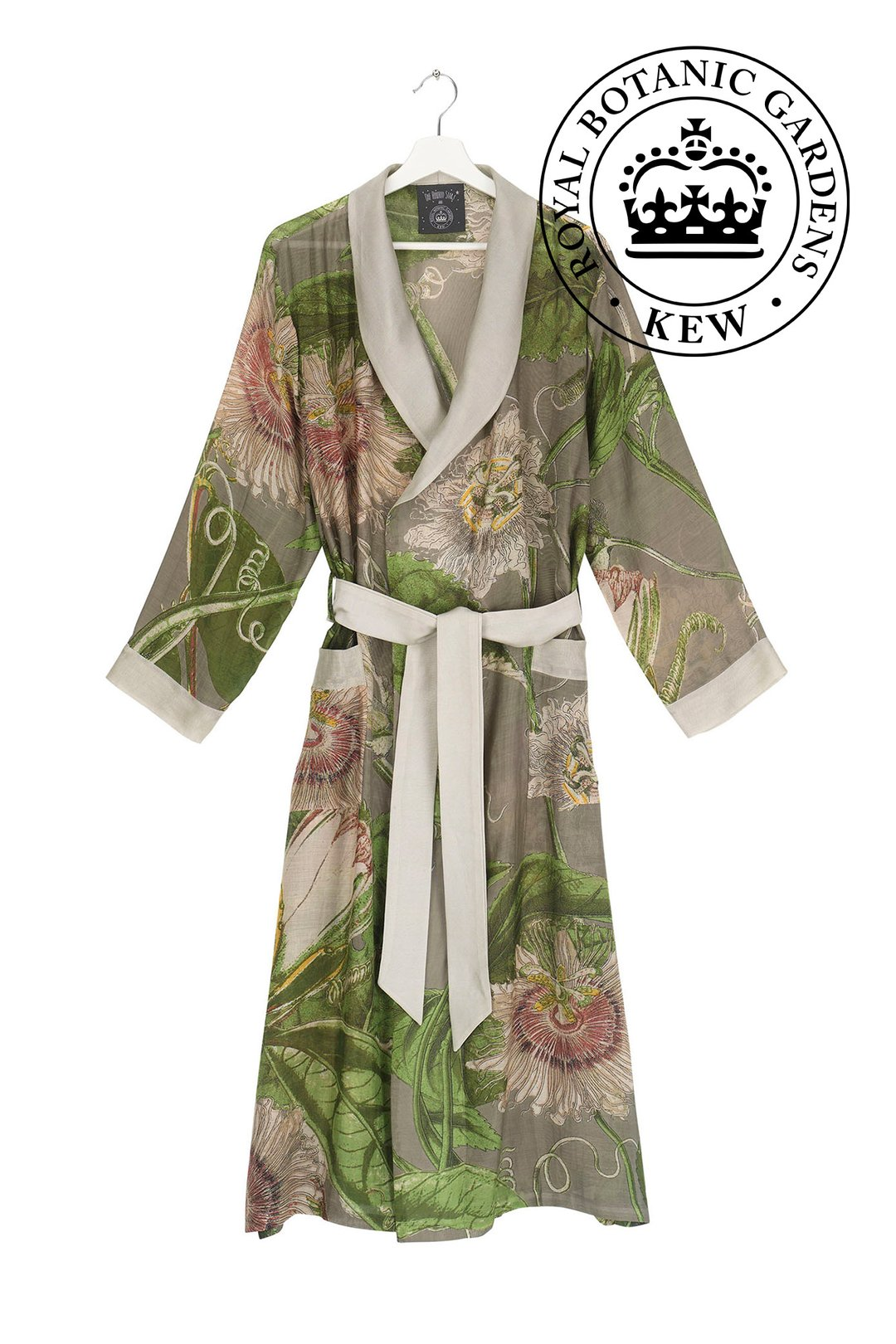 OHS X KEW RBG Passion Flower Stone Gown