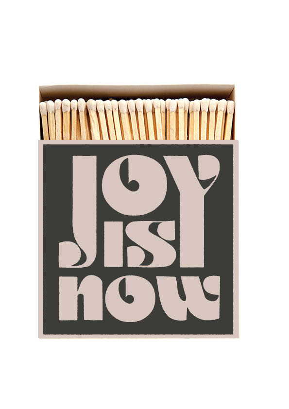 Joy Luxury boxed matches