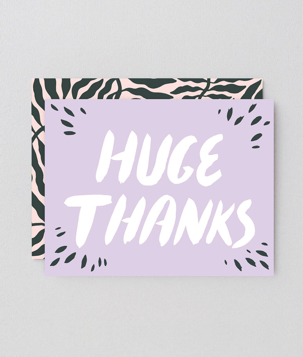 Huge Thanks