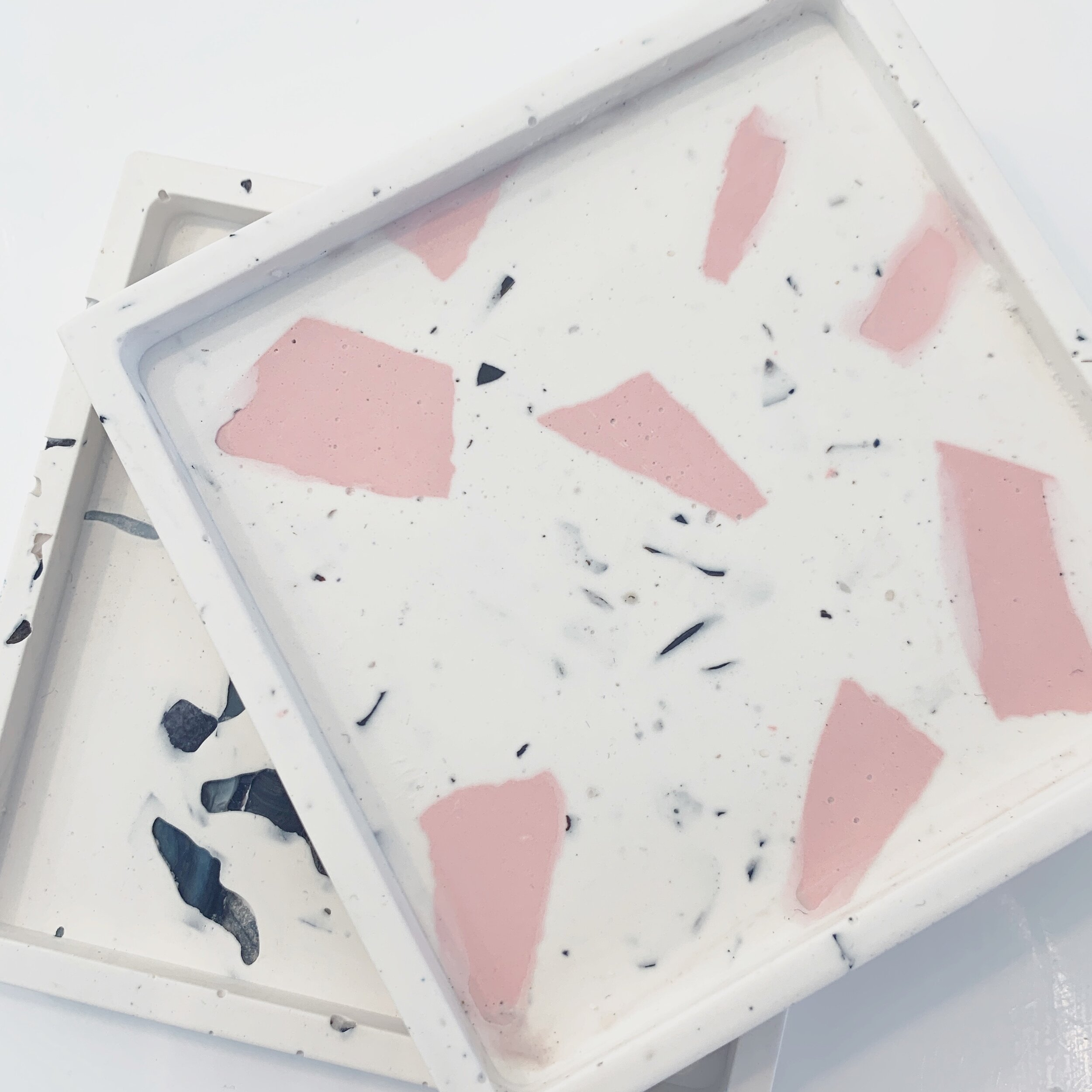Square small trivet tray
