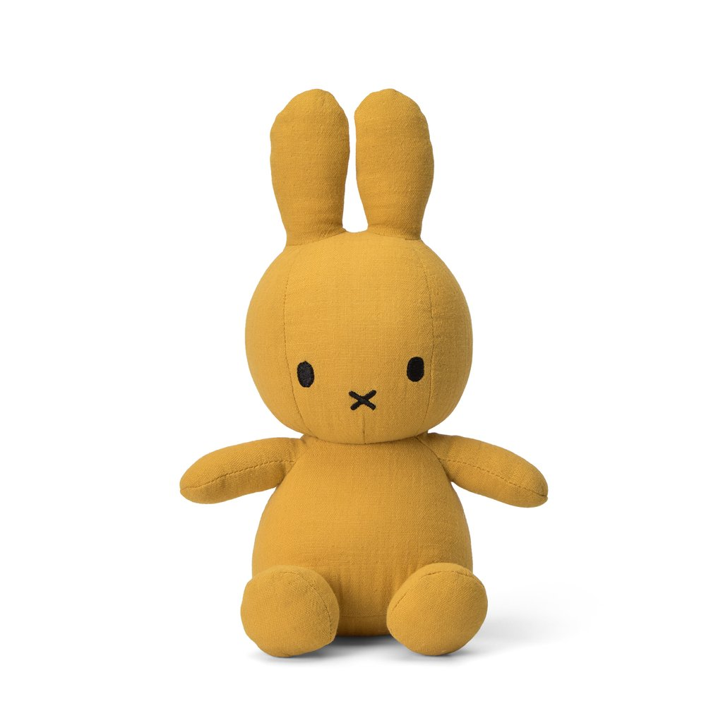 Sitting Miffy Toy - Mousseline Mustard
