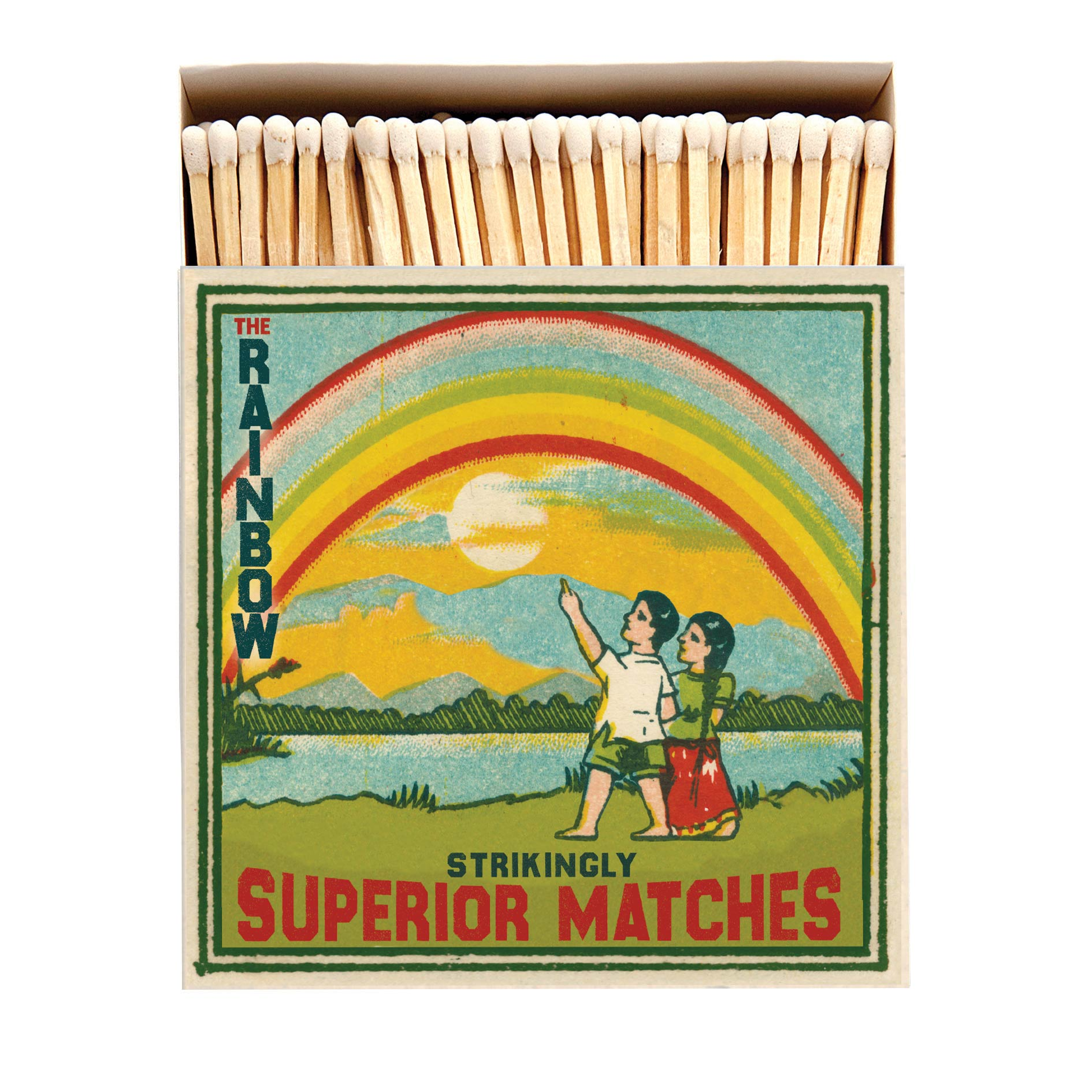 Rainbow Luxury square matches