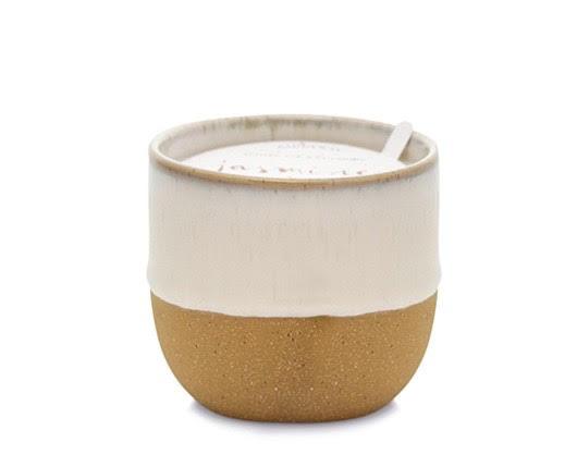 Ceramic 6oz candle - Jasmin + Bamboo