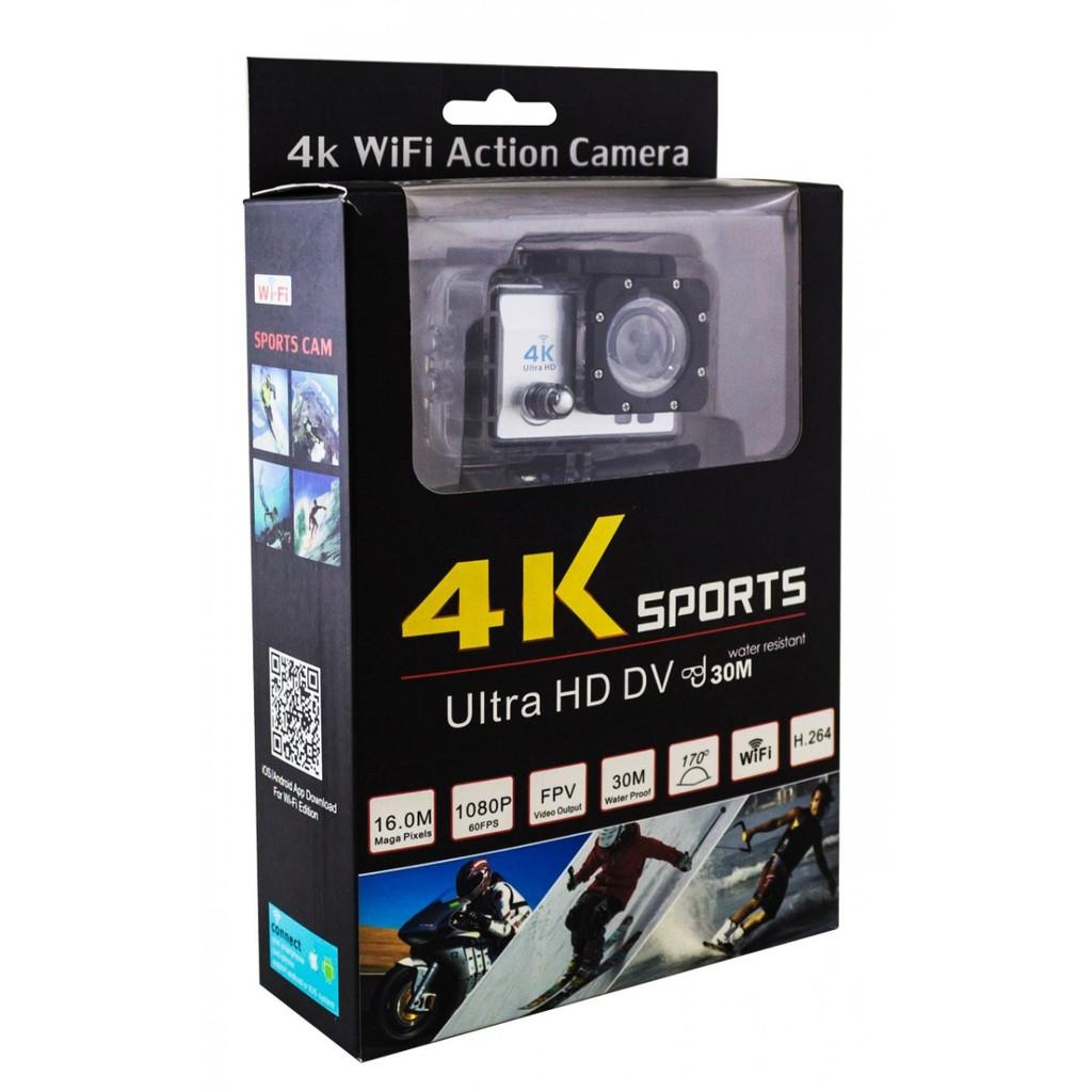 4K Sports Ultra HD DV, 4K WiFi Action Kamera