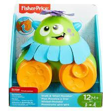 Monster pull toy Fisher Price