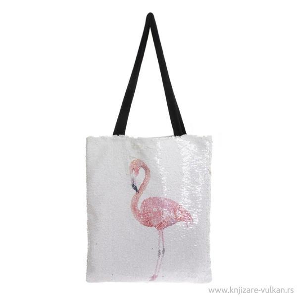 Väska Flamingo sequin-Lesser & Pavey