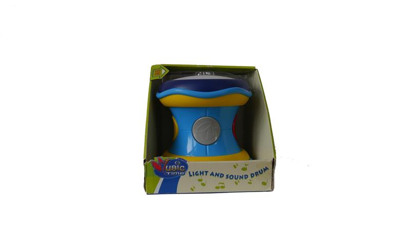 Music Time Light And Sound Drum