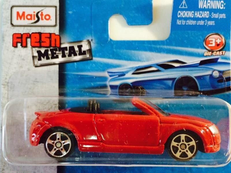 Maisto Fresh Metal Audi TT Roadster
