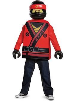 Lego ninjago movie dräkt-Kai S4-6år