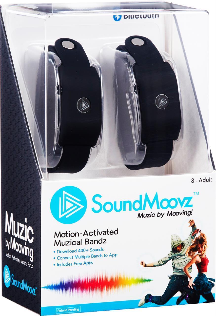 Sound Moovz Armband Svarta