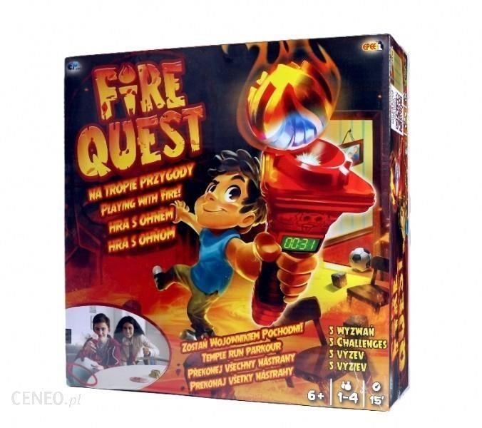Fire quest temple run obstacle course