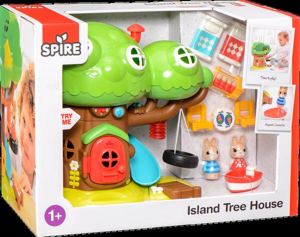 Trädkoja på en ö