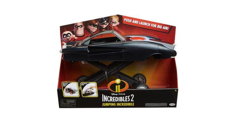 Incredibles 2 hoppande bil