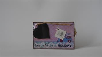Heaven Sends Days Until Holiday Chalkboard  Lila