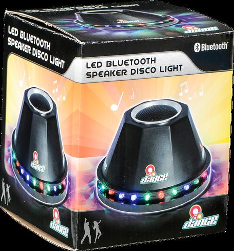 Led bluetooth speaker disco light