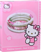 HELLO KITTY 3-ringspool 84 L