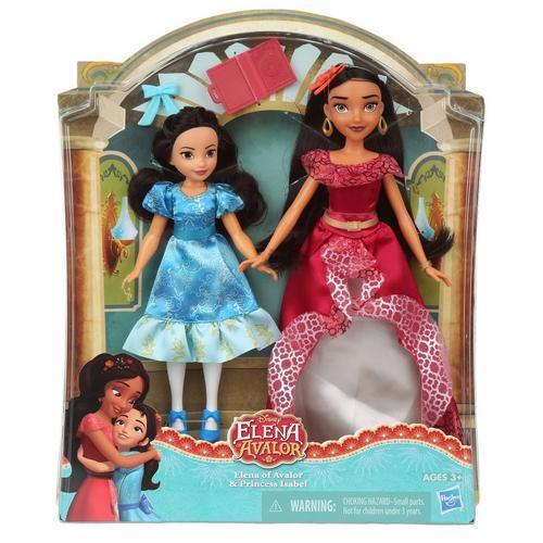 Disney Elena Avalor och prinsessan Isabel