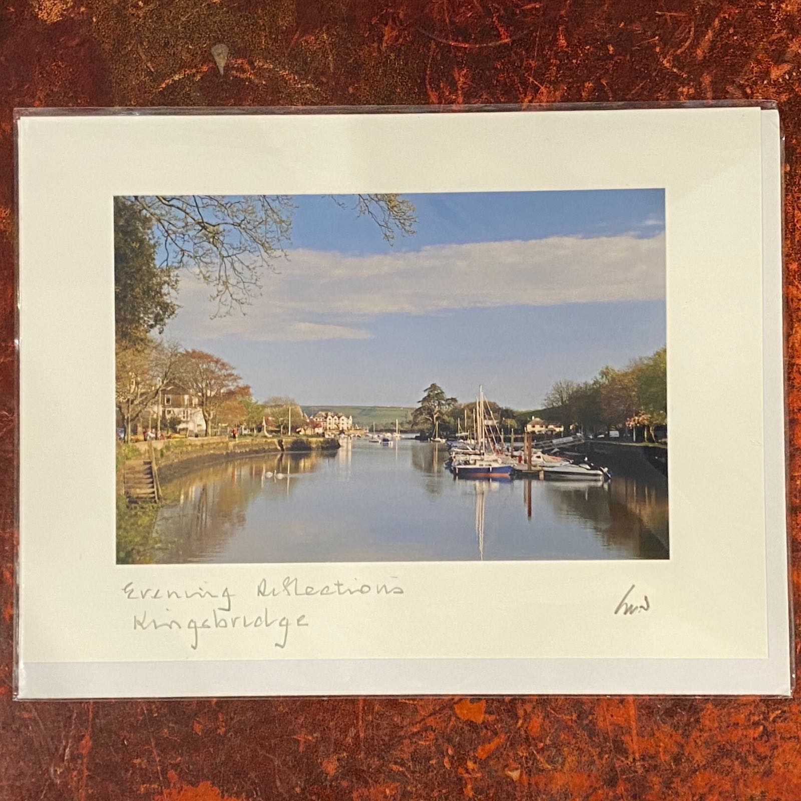 Evening/Quay Reflections Card