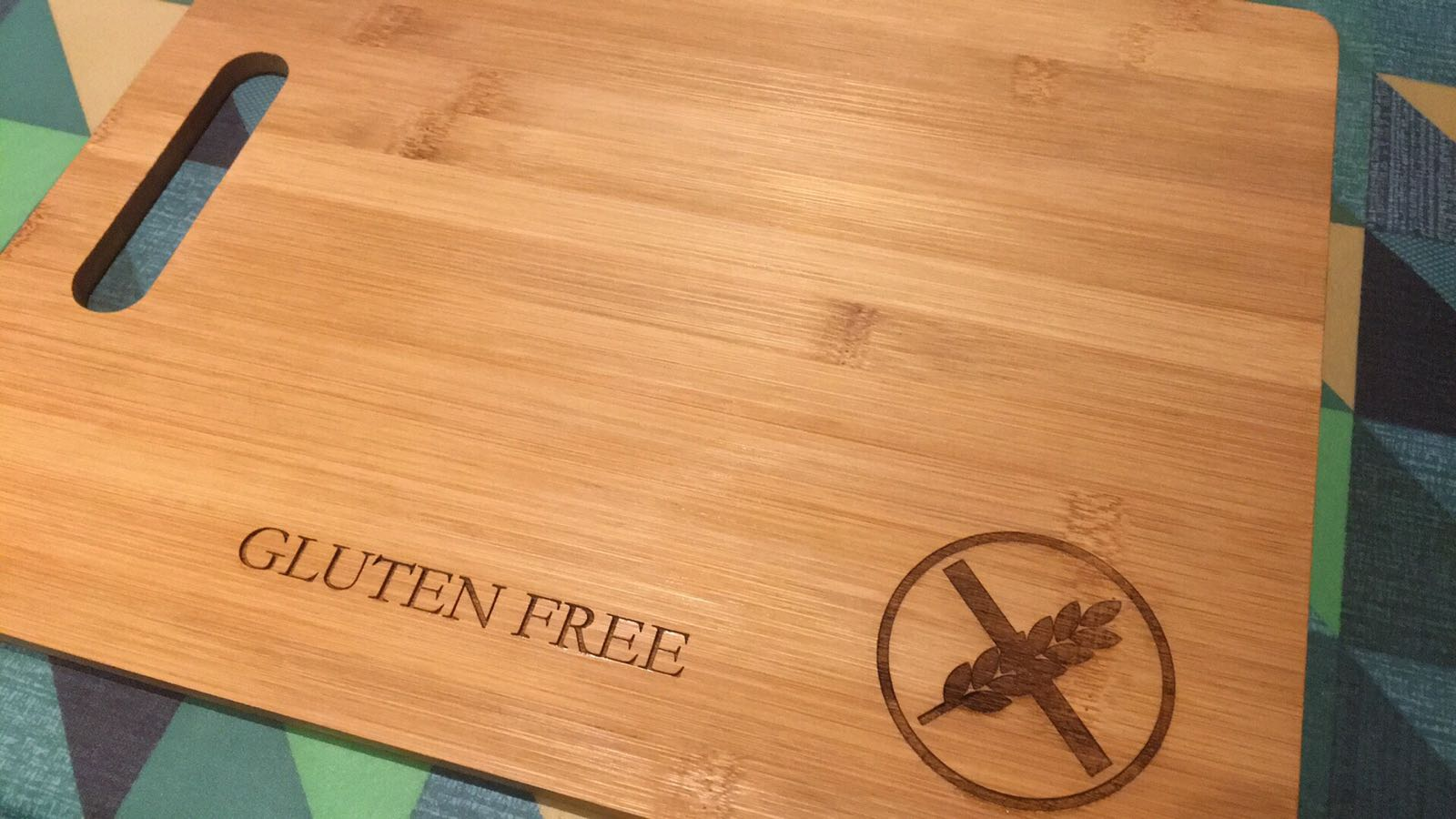 Coeliac/Allergy Chopping Board