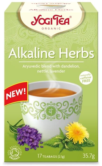 Alkaline herbs Yogi Te