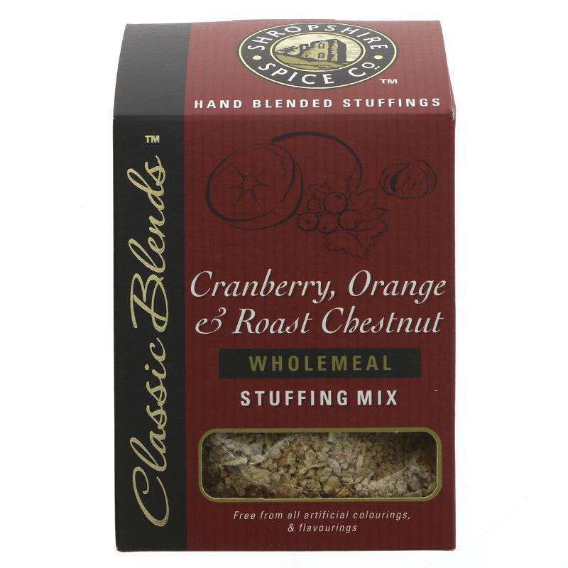 Shropshire Spice Mix Cranberry, Orange & Roast Chestnut Stuffing