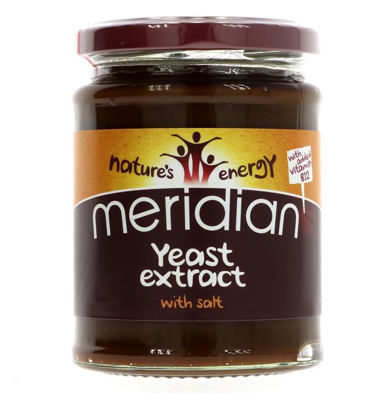 Meridian Yeast Extract + B12 and Salt