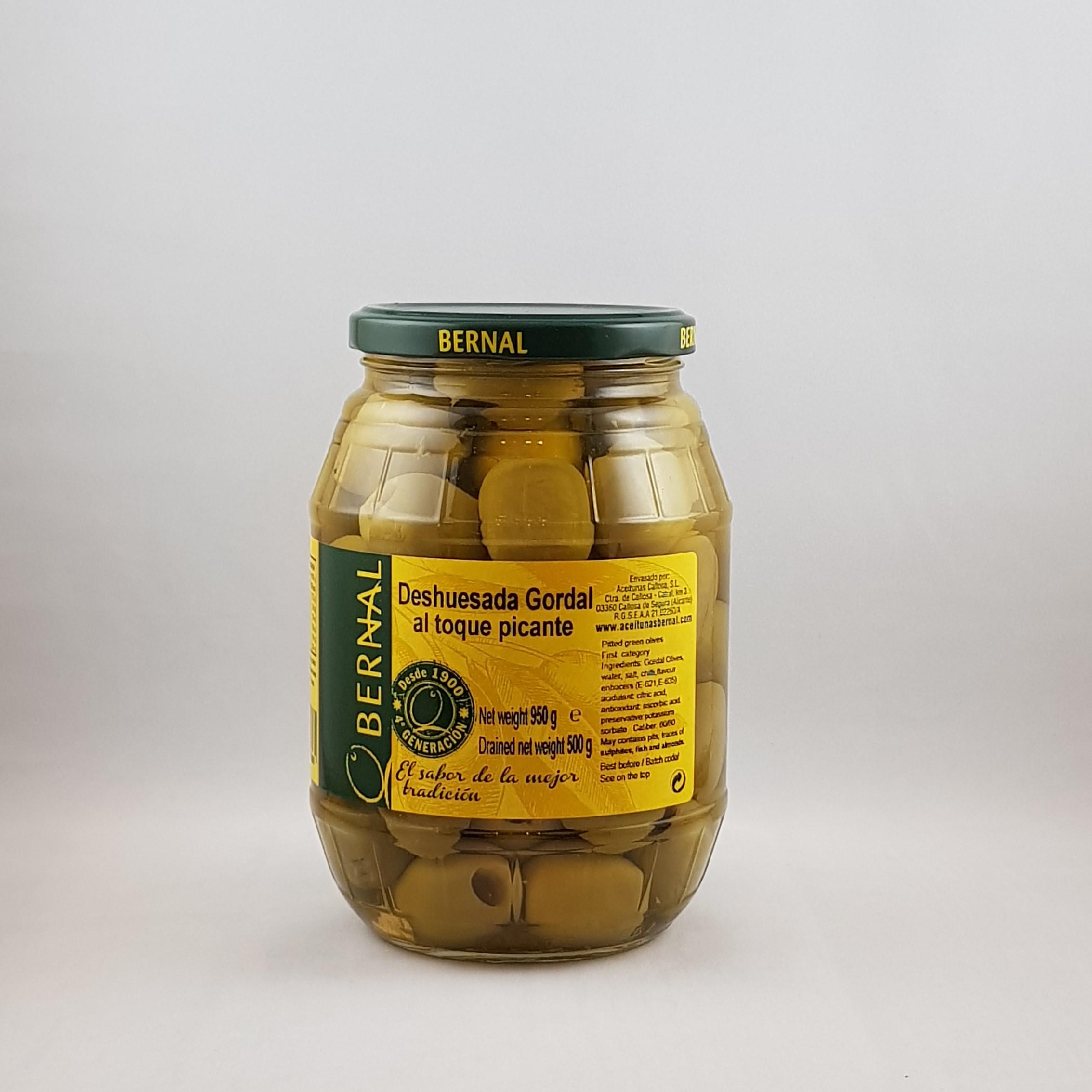 Bernal Gordal Picante Olives