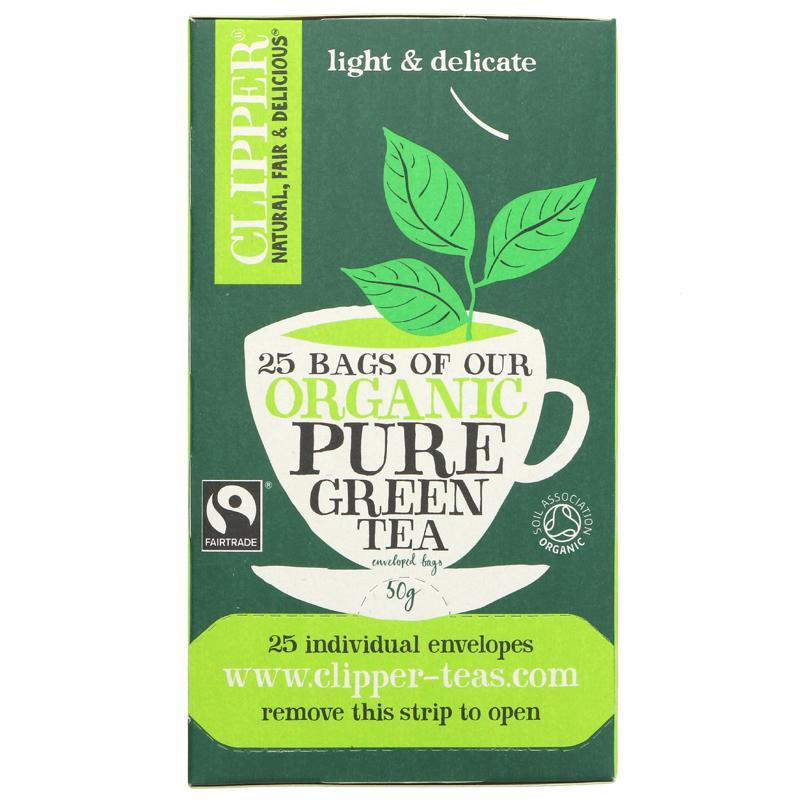 Clipper Green Tea 50g