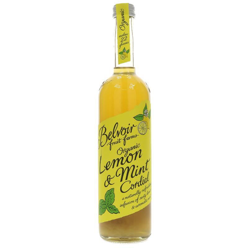 Belvoir Lemon & Mint Cordial