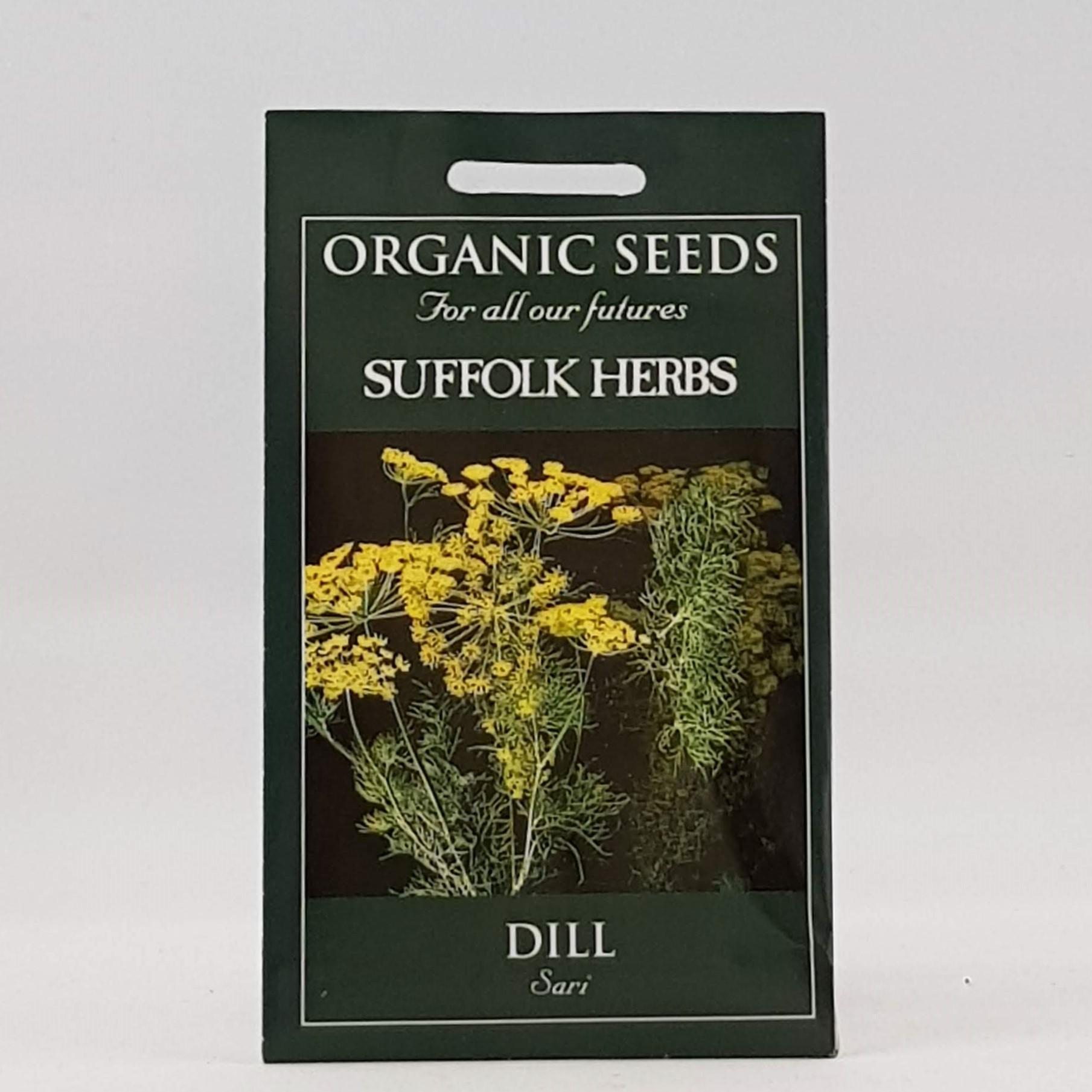 Dill Sari Seeds, Organic