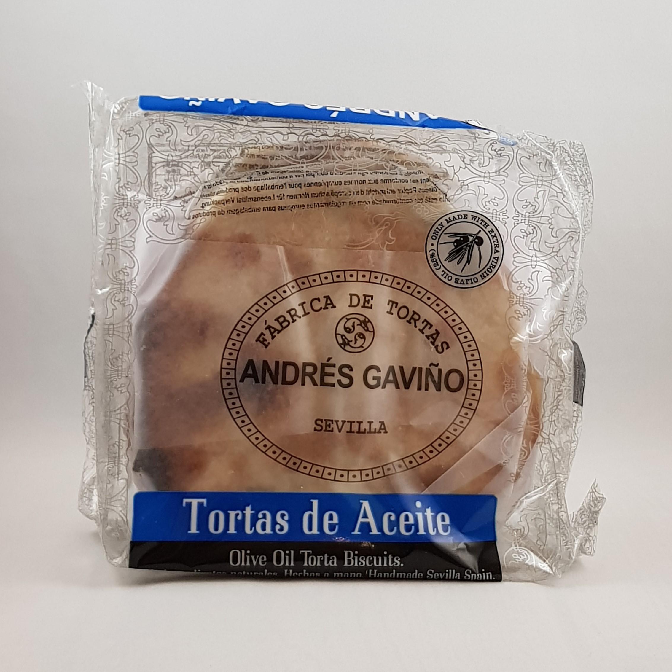 Andres Gavino Tortas de Aciete