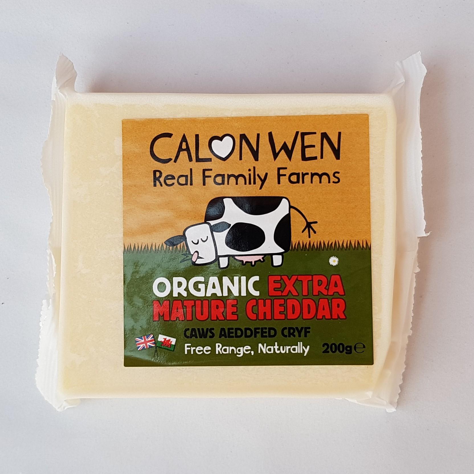 Calon Wen Extra Mature Cheddar Cheese